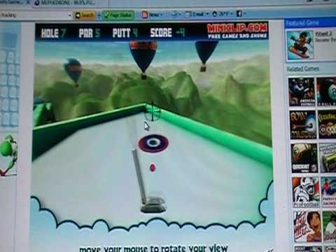 mini clip golf