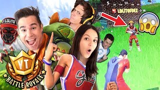 TORNEO 100 YOUTUBERS #YTBattleRoyale | MEJORES MOMENTOS - Fortnite