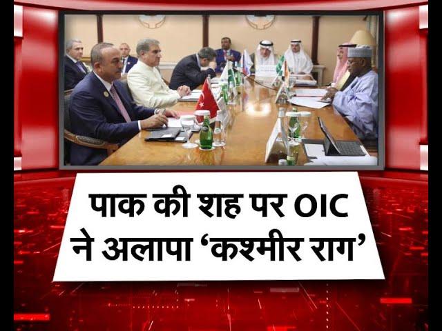 पाकिस्तान की शह पर OIC ने अलापा कश्मीर राग, भारत ने दिया ये जवाब