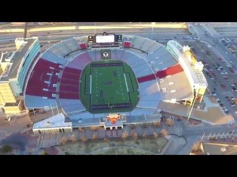 Above Texas Tech — Jones AT&T Stadium