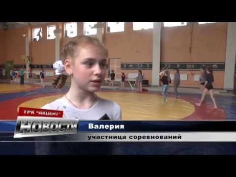 Соревнования по спортивной гимнастике в Лисичанске