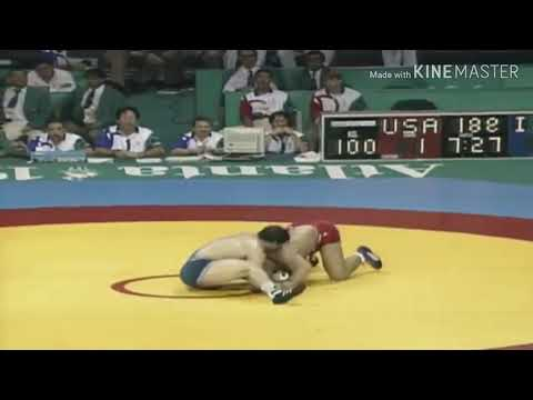 Kurt Angle Wins Gold Medal With A Broken Freakin' Neck!