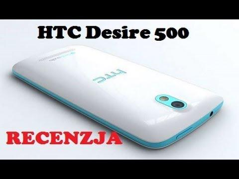 HTC Desire 500 - videotesty.pl [RECENZJA]