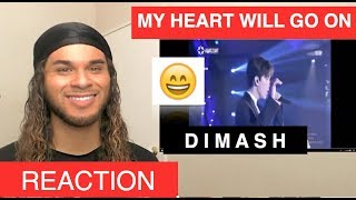 VOCALIST Reacts to DIMASH - My Heart Will Go On (Dimash Reaction Week!)