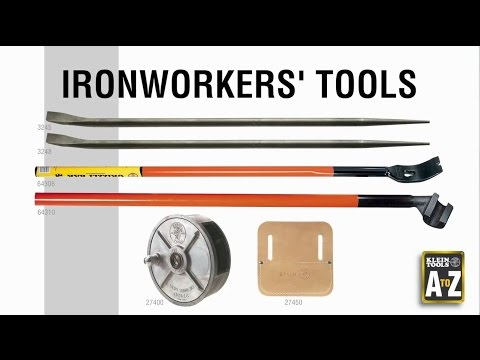 A to Z – Ironworkers Tools - YouTube