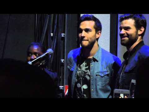 Chris Wood & Daniel Gillies messing up in the final panel of Bloody Night Con Europe 3
