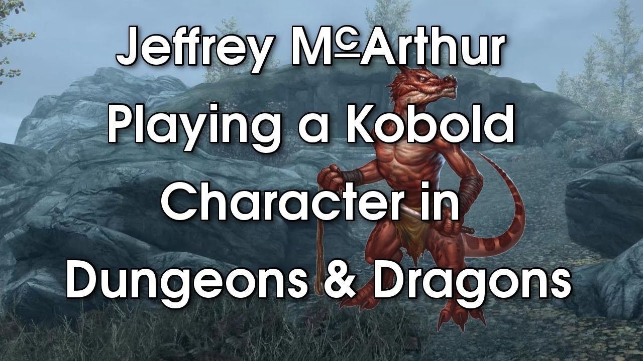 Playing a Kobold Character in Dungeons and Dragons