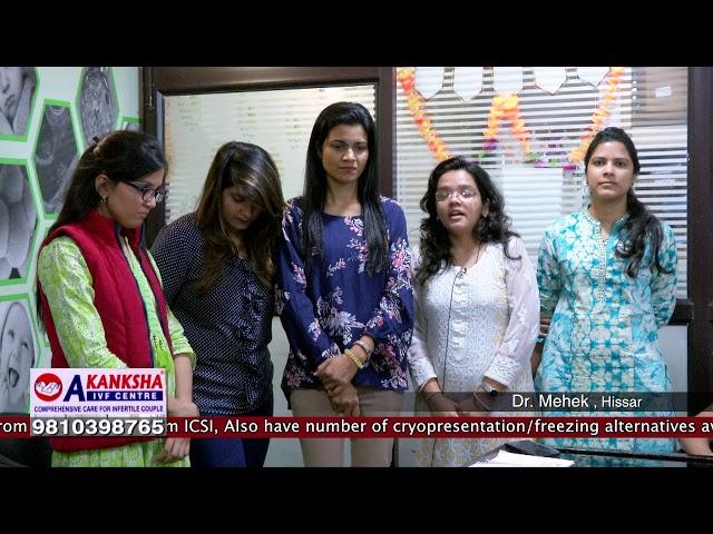 Dr. Mehek has done her training at Akanksha IVF Centre Delhi