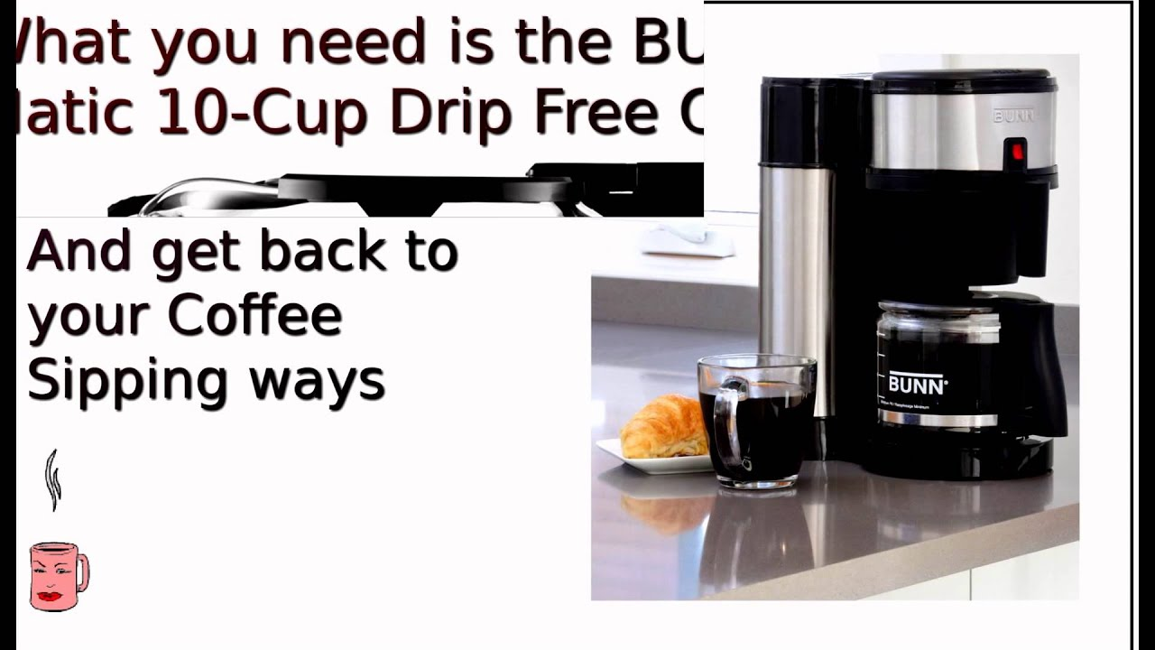 Bunn Carafe Replacement for NHBX-B Velocity Brew Coffee Maker - YouTube