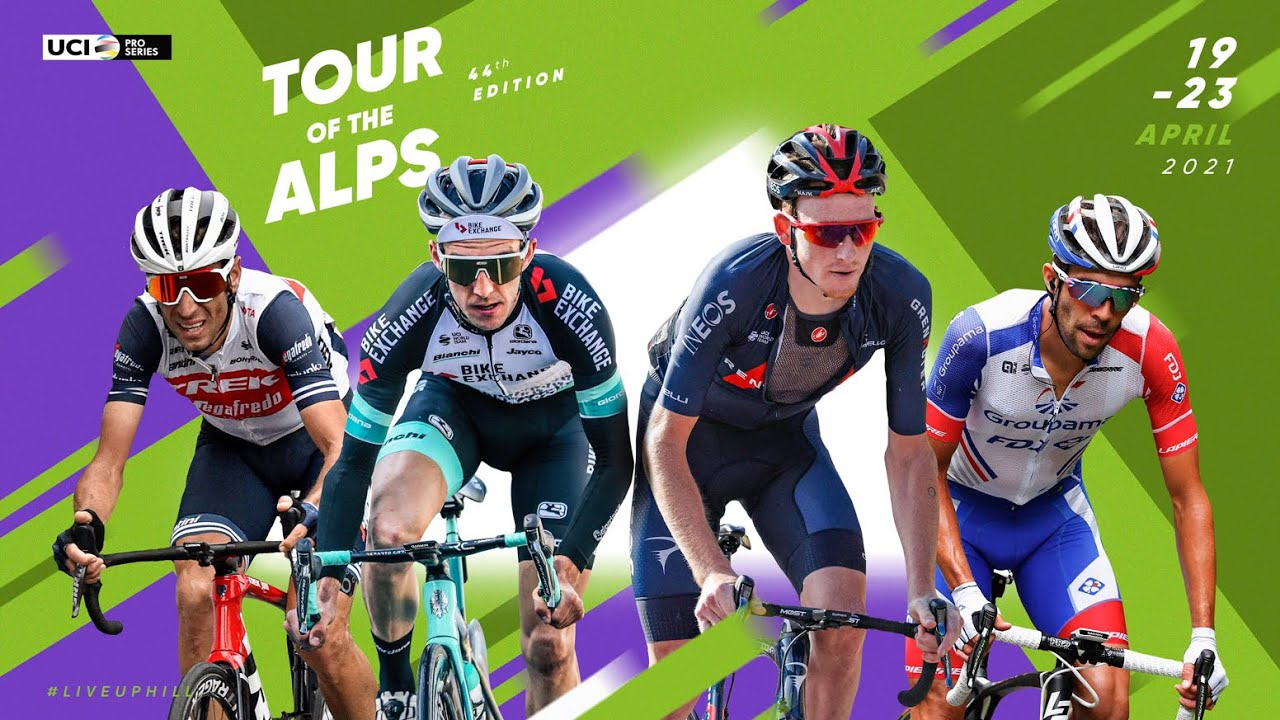 2021 Tour of the Alps - Teams Presentation