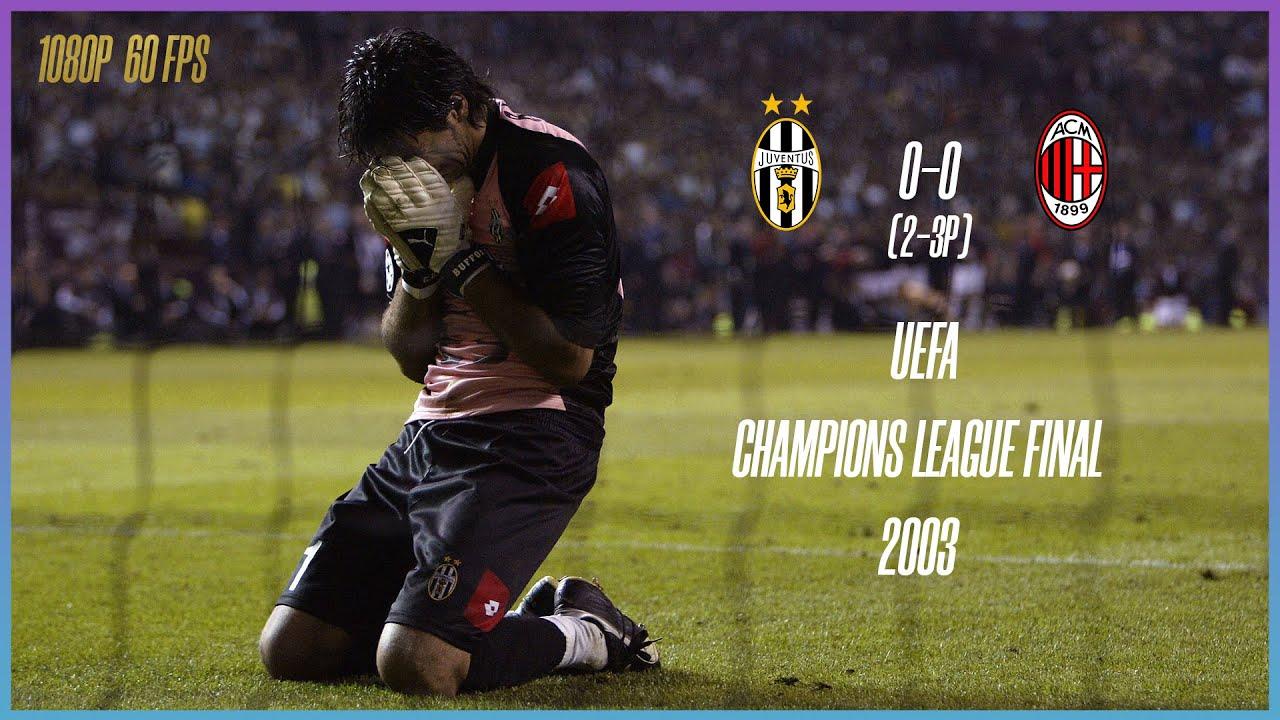 Juventus vs AC Milan 0-0 (2-3P) UEFA Champions League ...