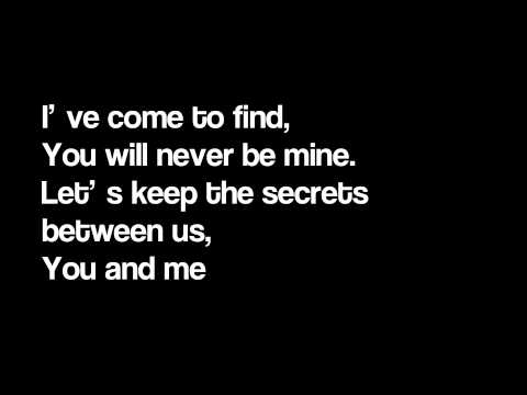 Eyes Set To Kill - The Secrets Between (lyrics)