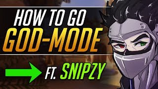 How Snipzy CARRIES AS GENJI - Grandmaster Tips and Tricks - Overwatch Guide
