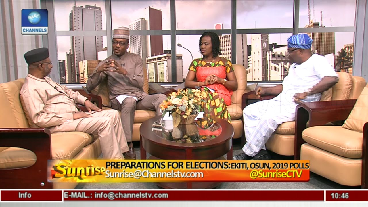 Analysing Nigeria's Political Atmosphere As Ekiti, Osun Prepare For Polls Pt.2  Sunrise 