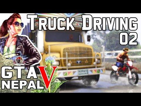 GTA 5 Nepal || South Asian Truck In Bad Weather || GTA 5 Truck 02  || Nepal Gaming