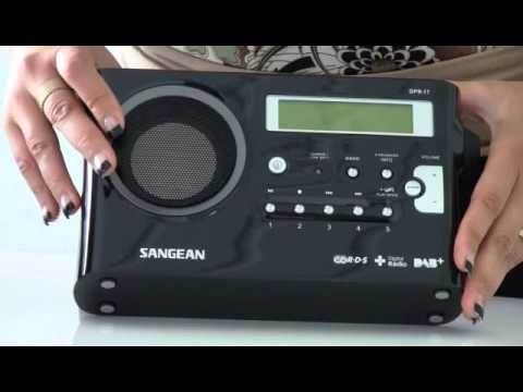 Sangean DPR17 DAB+ Portable Radio with Digital Recording