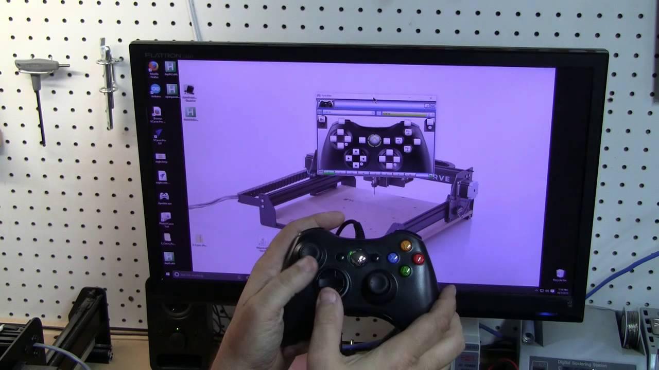 x-carve CNC Super Xbox 360 pendant