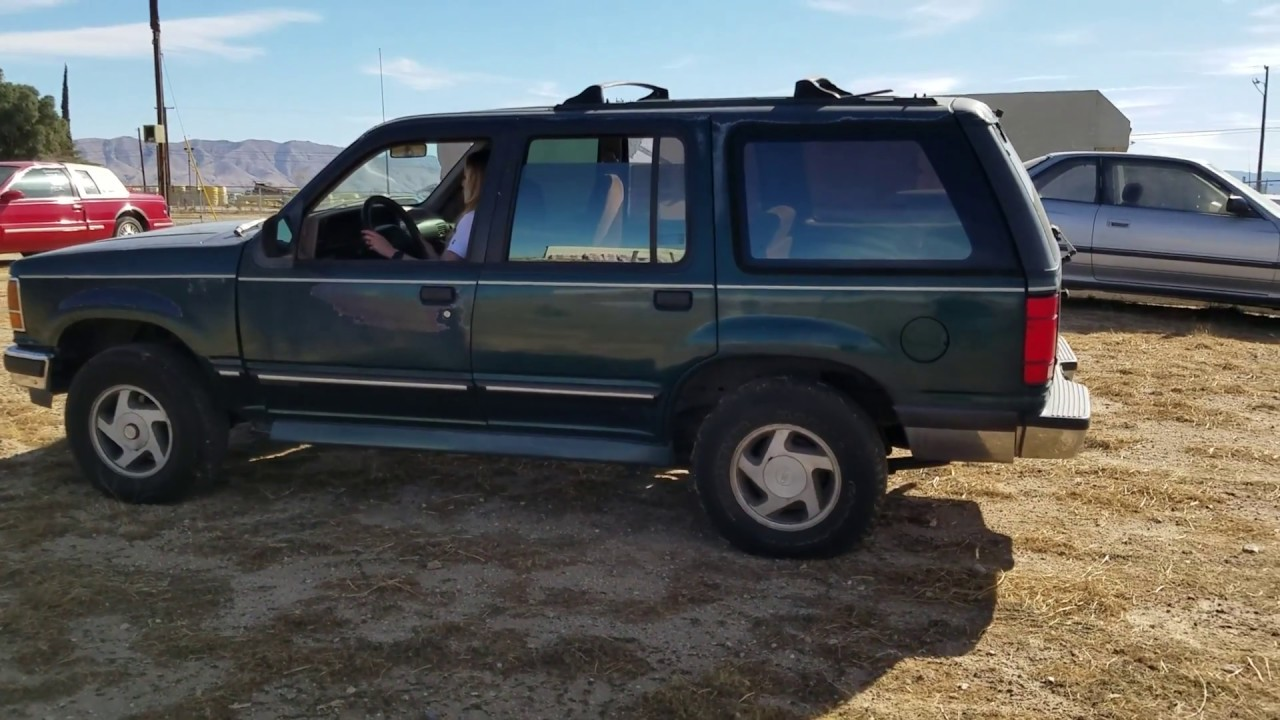 hight resolution of 1993 ford explorer xlt 4x4 green