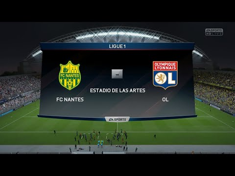 FC Nantes - Olympique Lyonnais [FIFA 16] | Ligue 1 2015-2016 (16ème Journée) | CPU Vs. CPU