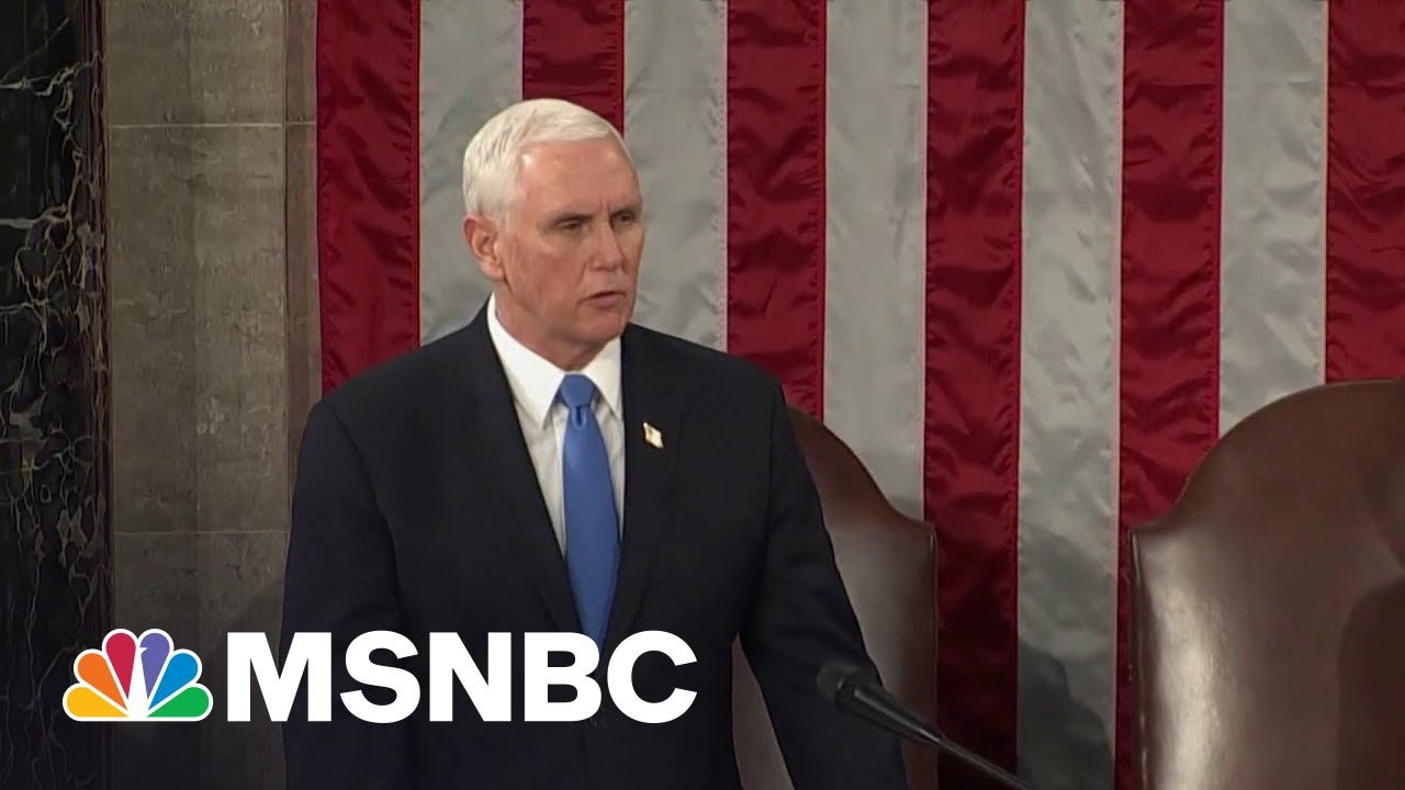 Pence Had to Ask Dan Quayle If American Democracy Should ...