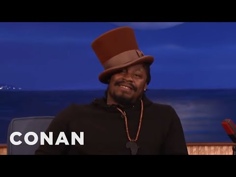 Marshawn Lynch Plays Willy Wonka For The CONAN Audience  - CONAN on TBS