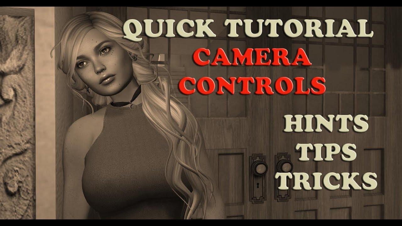 Second Life Tutorial ~ Camera Controls ~ Firestorm Viewer ♥