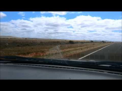 Driving across Australia (Timelapse)
