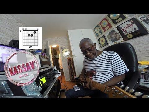 KASSAV'- MWEN MALAD AW - GUITAR LESSON BY JACOB DESVARIEUX
