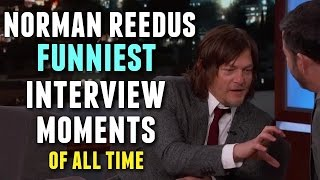 Norman Reedus Funniest Interview Moments of all Time