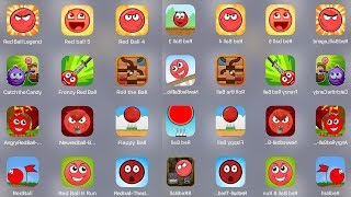 Red Ball Legend,Red Ball 5,Red Ball 4,Catch Candy,Frenzy Ball,Angry Ball,Flappy Ball,Red Ball 6 Run