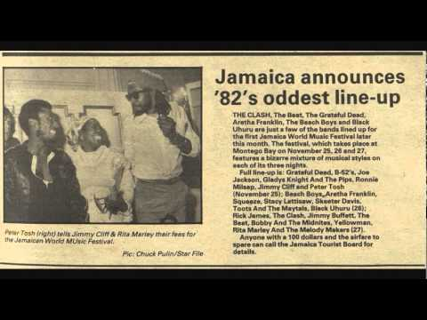 The B 52's - Word Music Festival, Montego Bay, Jamaica 1982-11-26