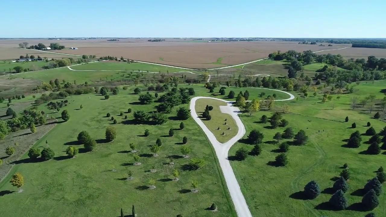 Aerial View of Brenton Arboretum