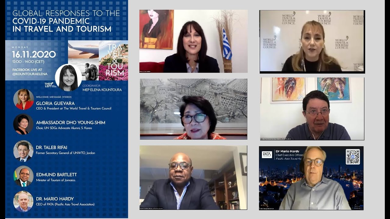 """""""Global Responses to the COVID-19 Pandemic in Travel and Tourism"""" webinar (16/11/2020)"""