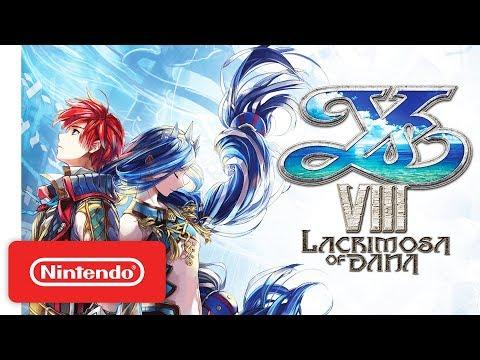 Ys VIII: Lacrimosa of DANA Arrives on Nintendo Switch!