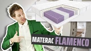 Materac Flamenco Hilding Kieszeniowy MULTIPOCKET 80x200, 90x200, 140x200, 160x200, 180x200, 200x200