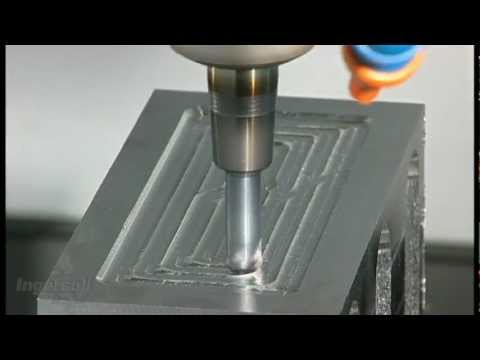 Solid Carbide Hi Feed End Mill Contour Milling 4140 Steel