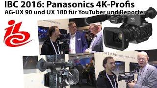 panasonic ag ux90 und ux180 profi camcorder fr youtuber und reporter