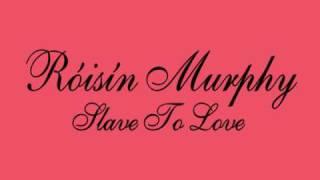 Róisín Murphy - Slave To Love (Bryan Ferry Cover) - Gucci Advert