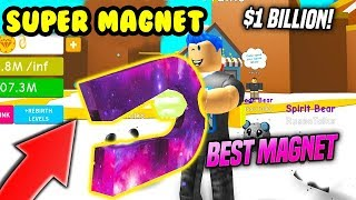 🤑DEV MAGNET with RICH 🤑/Roblox Magnet Simulator/Roblox Turkish