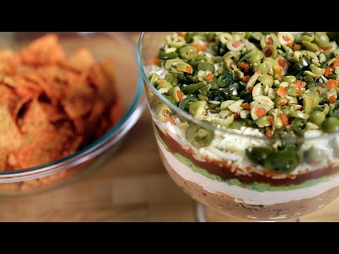 7 Alarm Spicy Layer Dip Recipe For Game Day   Eat The Trend