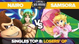 Nairo vs Samsora - Top 8 Losers' Quarterfinals: Ultimate Singles - TBH9 | DK, Palutena vs Peach