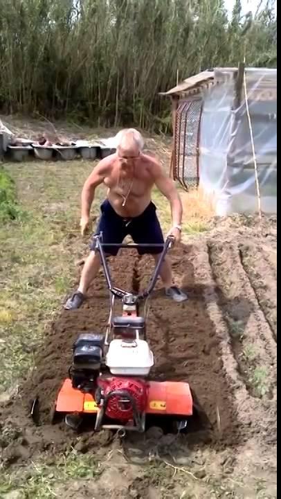 Rocco martella fresa l 39 orto con la motozappa 25 4 2014 for Youtube motozappa
