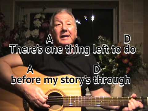 The Story of my Life - cover - easy chords guitar lesson - on-screen chords and lyrics
