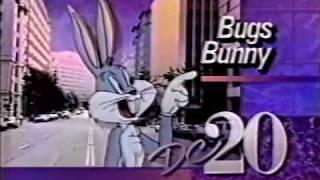 WDCA 20 Washington DC   1987  Bugs Bunny