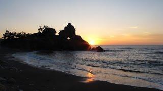 水城なつみ - 曽々木海岸