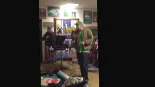 "Lucky Disaster - ""Pray For Daylight"" (Live at Raging Rapids Art Gallery on February 15, 2014)"