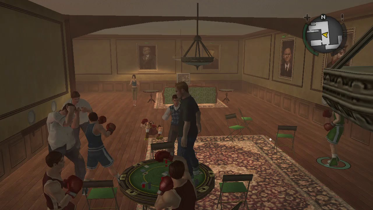 Bully SE: Messing around with the Boxers