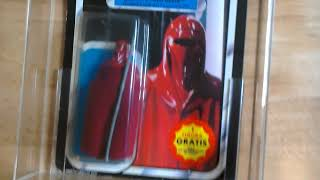 Emperor's Royal Guard PBP ROTJ Spanish Vintage Star Wars action figure review 😉