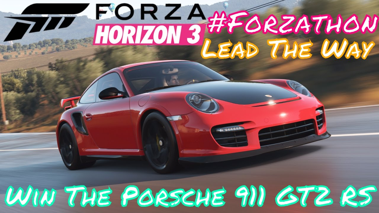 Forzathon Win The Porsche 911 Gt2 Rs Lead Way Challenges Forza Horizon 3