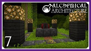 Alchemical Architecture | Blood Magic Blood Altar & Bound Blade! | E07 (Magic Modpack Lets Play)